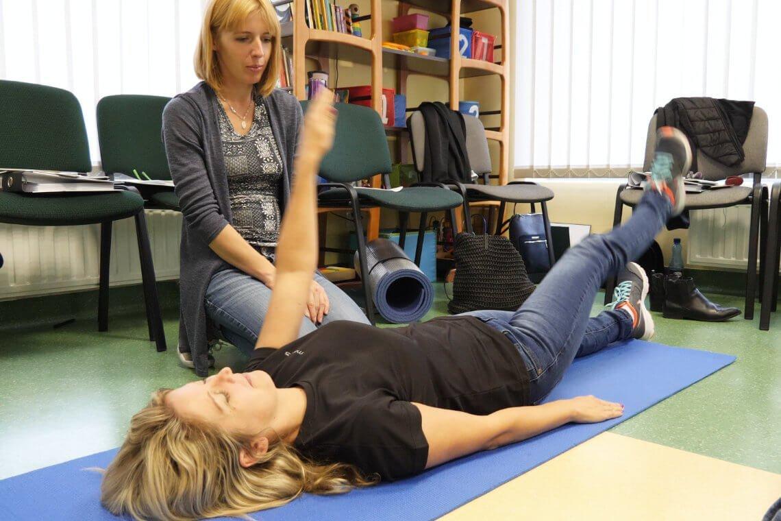Terapeuci Bilateralnej Integracji podczas szkolenia